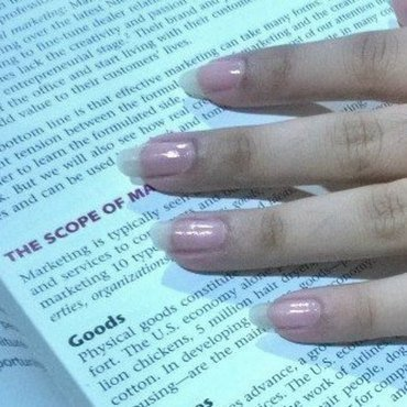 Clear Glossy nail art by Wish Mrt'xa