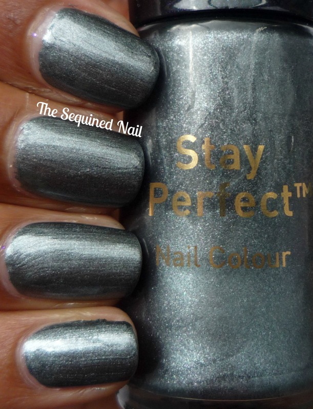 No7 Night Silver Swatch by TheSequinedNail