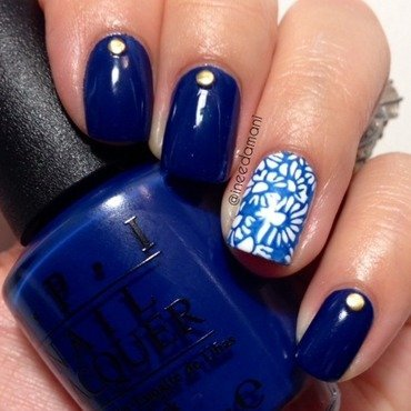 Opi 20keeping 20suzi 20at 20bay 20daisy 20moyou 20london 20pro 207 20nail 20stamping thumb370f