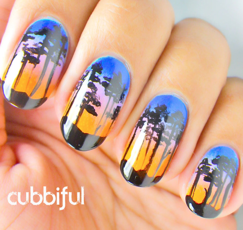 Vice Upclose Nail Art by