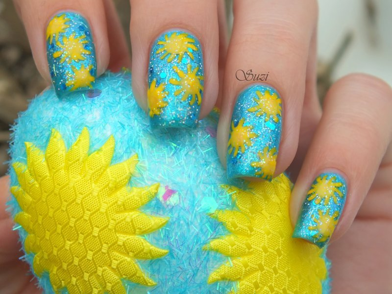 Inspired by Easter egg nail art by Suzi - Beauty by Suzi