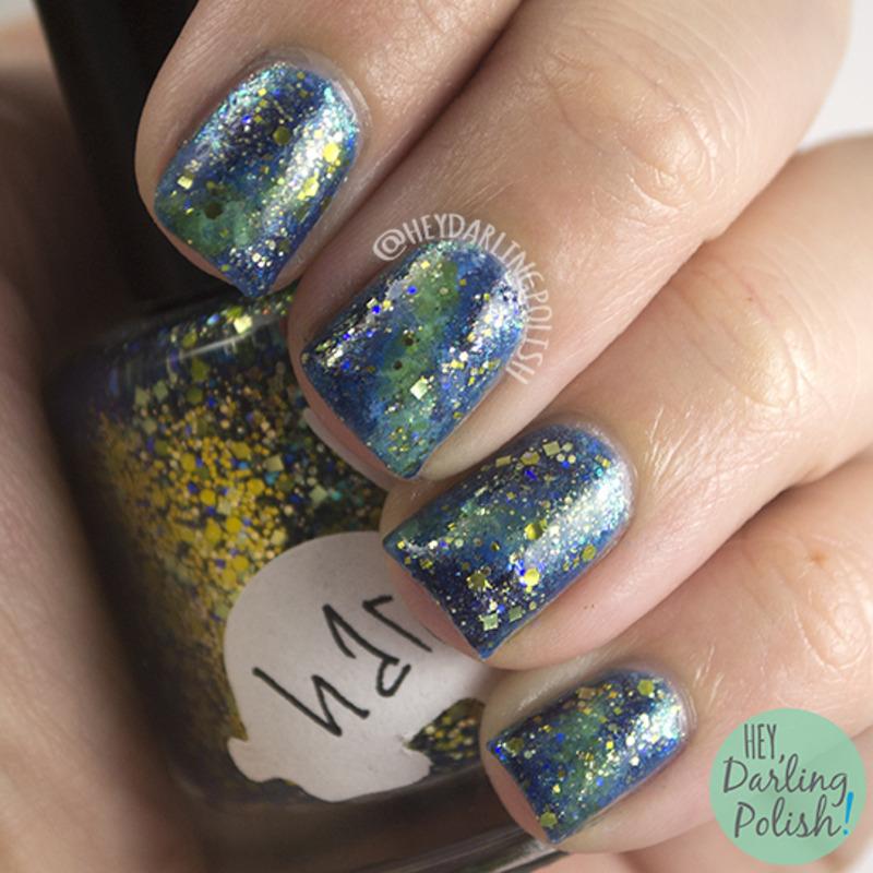 Hare Galaxies nail art by Marisa  Cavanaugh
