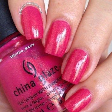 China Glaze Strawberry Fields Swatch by Giovanna - GioNails