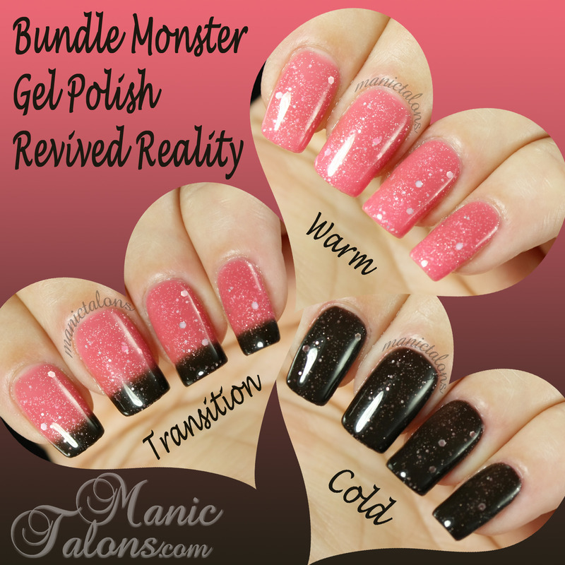 Bundle Monster Gel Polish Revived Reality Swatch by ManicTalons