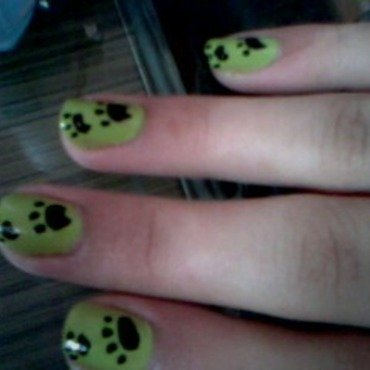 Puppy Toes nail art by Wish Mrt'xa