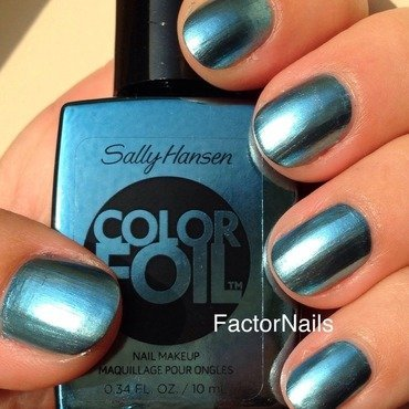 Sally hansen cobalt chrome Cobalt chrome Swatch by Factornails