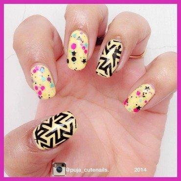 Kbshimmer scribble me this nail art nail art by Puja Malhotra