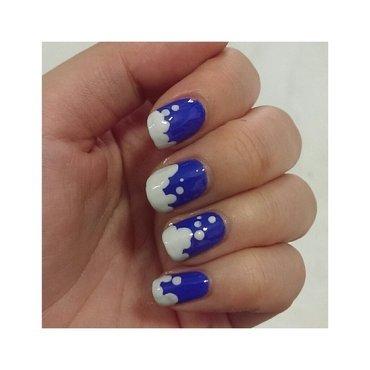 Foam Bubbles nail art by JingTing Jaslynn