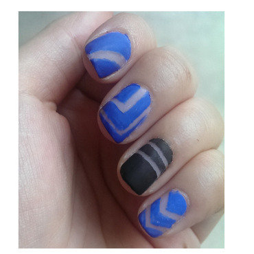 Mesh it up ! nail art by JingTing Jaslynn