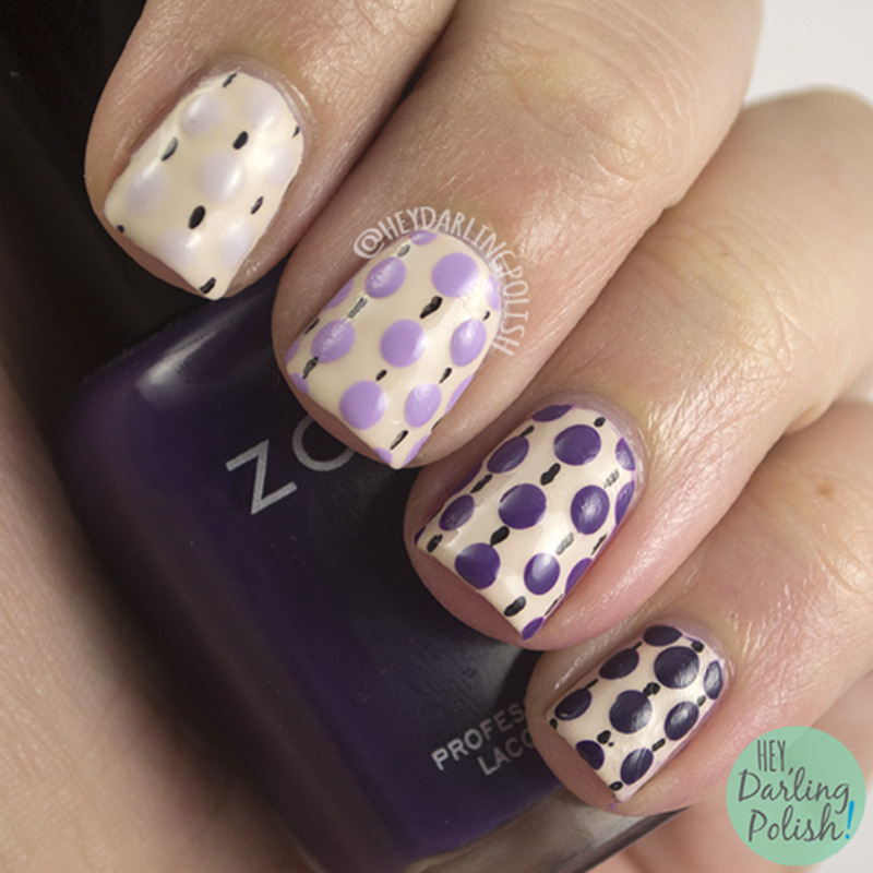 Ombre Dots nail art by Marisa  Cavanaugh