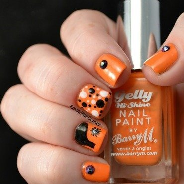 A Clockwork Orange nail art by Emma B