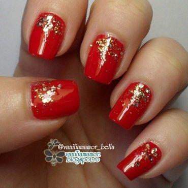 Broadway nail art by Isabella