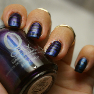 """Duochrome"" for OMD2 Challenge nail art by Stephanie L"
