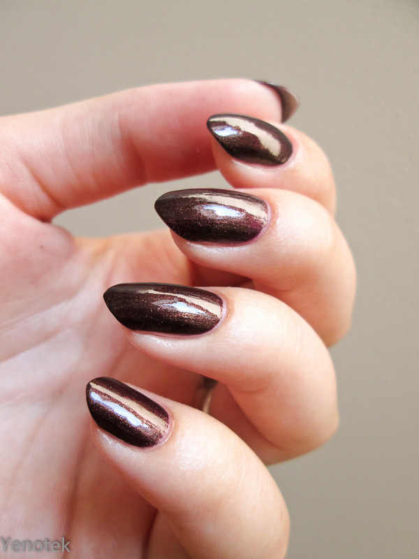 China Glaze Side-Saddle Swatch by Yenotek