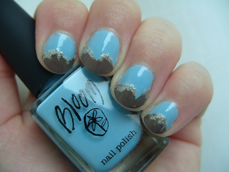 The Eiger nail art by Lina-Elvira