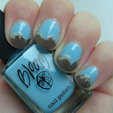 The Eiger nail art by Lina-Elvira