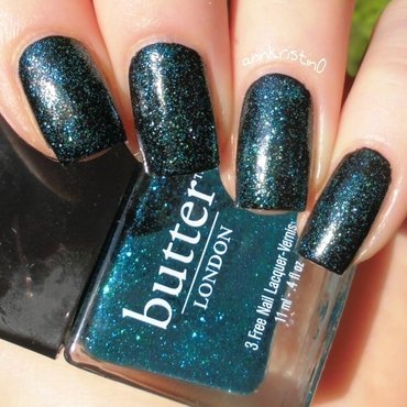 Butter London Henley Regatta and Kiko 275 Swatch by Ann-Kristin