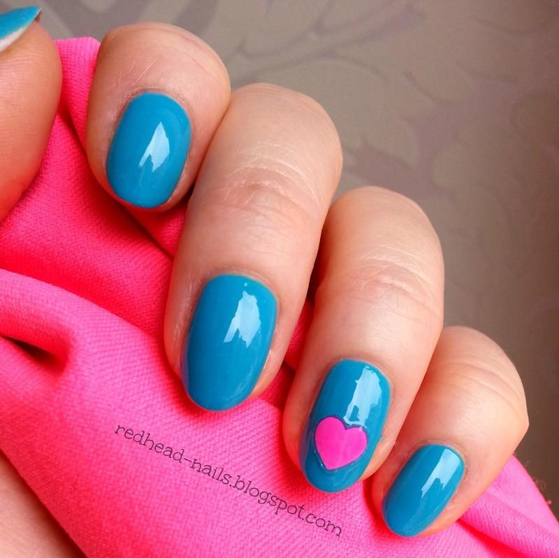 Colour Alike Modraszek Swatch by Redhead Nails