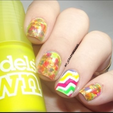 Nail Stencils II nail art by Mycrazydesigns