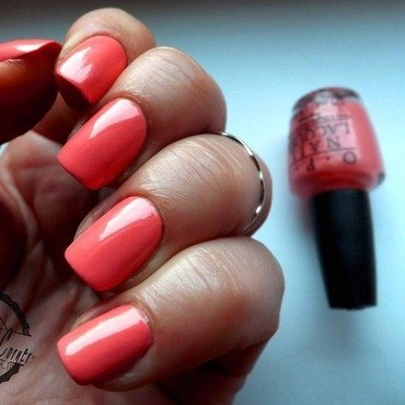 OPI - Sorry Im Fizzy Today - Coca Cola Collection nail art by Cris'