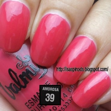 Valmy 39 Amorosa Swatch by Isabel