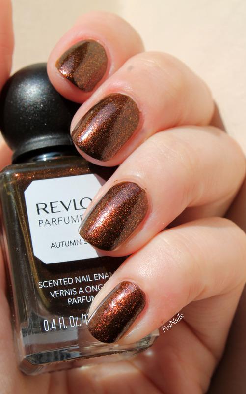 Revlon Parfumerie Autumn Spice Swatch by Fran Nails