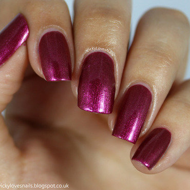 OPI Embarca-Dare Ya!     Swatch by Vicky Standage