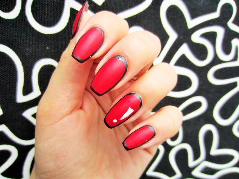 Pop art nail art by Jane