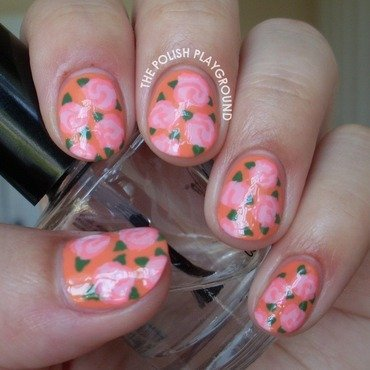 Light 20pink 20floral 20rose 20print 20nail 20art thumb370f