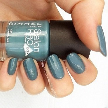 Rimmel Stormy Skies Swatch by Alexandra