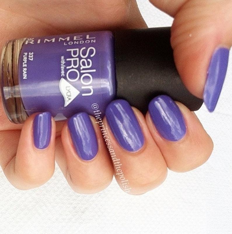 Rimmel Purple Rain Swatch by Alexandra