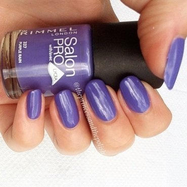 Rimmel Purple Rain Swatch by Alexandra