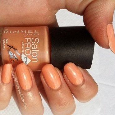 Rimmel Goddess Swatch by Alexandra
