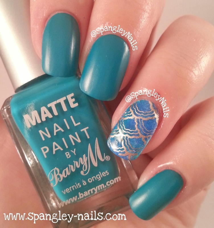 Barry M Matte Cancun Swatch by Nicole Louise
