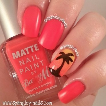 Barry M Matte Copacabana Swatch by Nicole Louise