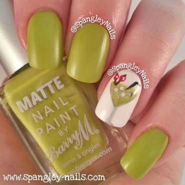 Barry M Matte Waikiki Swatch by Nicole Louise
