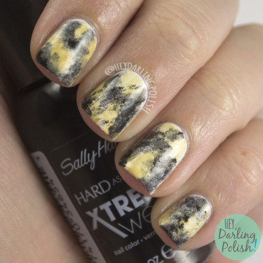 African Wild Dog  nail art by Marisa  Cavanaugh