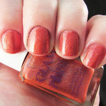 Glam Polish Don't Make me Blush! Swatch by Melissa (Clavum Es)