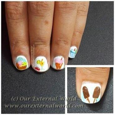Ice cream nails thumb370f
