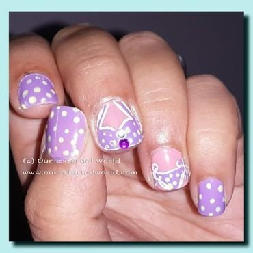 Swim suit nails thumb370f
