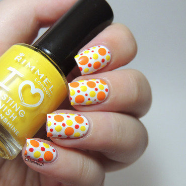 Summer Explosion! nail art by Marine Loves Polish