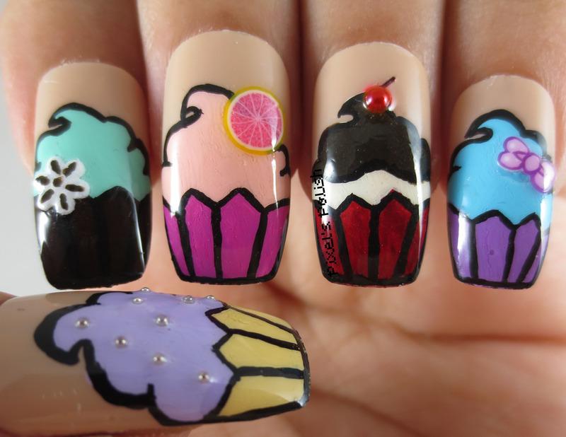 Simply Scrumptious! nail art by Pixel's Polish