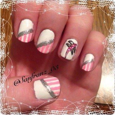Dragonfly nail art! nail art by Sandy