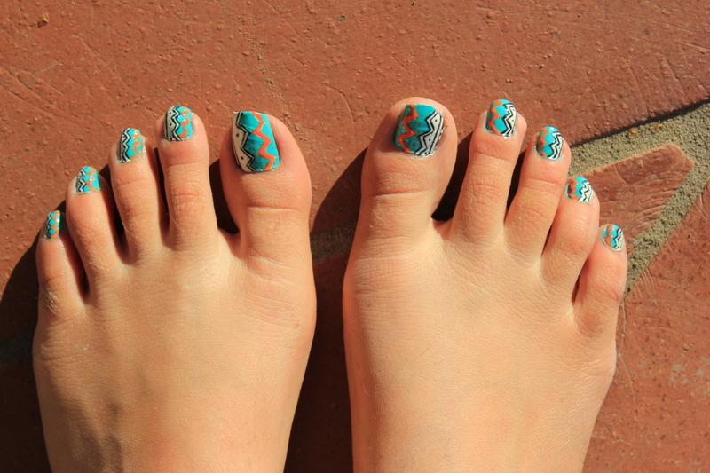 Easy summer nail art nail art by Giulia Cecchini