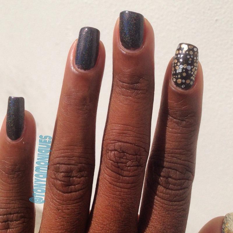 Marchesa for Revlon nail art by Tonya Simmons