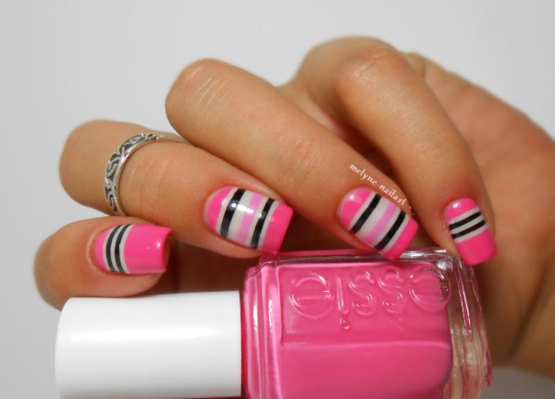 nail art striping tape nail art by melyne nailart