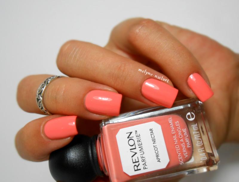 Revlon Parfumerie Apricot Nectar Swatch by melyne nailart