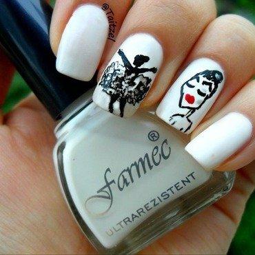 ballerina nails nail art by Teo