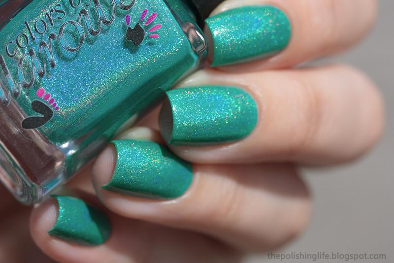 Colors By Llarowe Refresh...ing! Swatch by Alena Belozerova