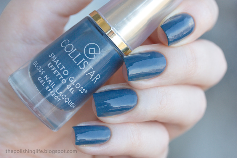 collistar 567 Navy Chic Swatch by Alena Belozerova